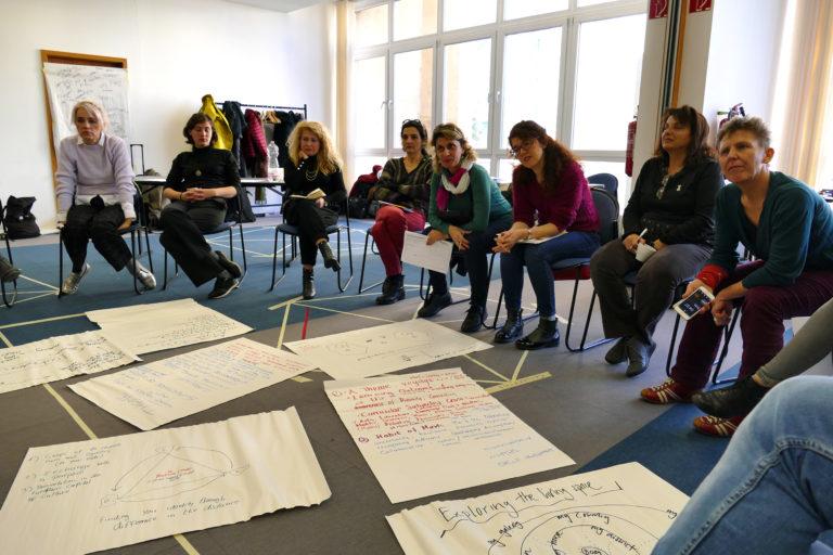 Feedback geben zu Ideen für Aktivitäten und Projekte (EiP Training I, Wolfenbüttel, Januar 2019)