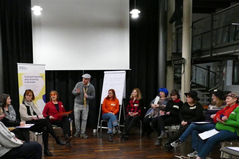 Gruppenreflexion nach zwei Stadtrats-Sitzungen (EiP Training I, Wolfenbüttel, Januar 2019)